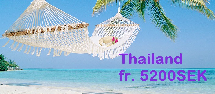 Kampanj med Thai Airways fr. 5200SEK