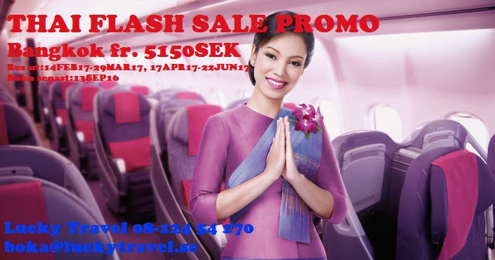 THAI FLASH SALE PROMO